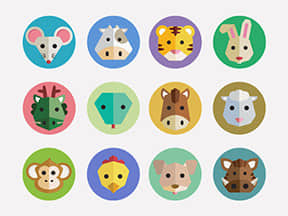 Dribbble-Chinese-Zodiac-Icons-by-George-Otsubo