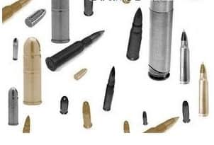 子弹、枪弹PS笔刷