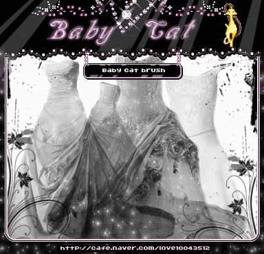 结婚的婚纱、可爱公主裙PS衣物笔刷