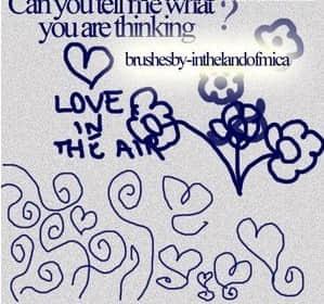 儿童涂鸦乱画笔刷下载