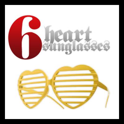 6种非主流眼镜照片美化素材-【美图秀秀素材】