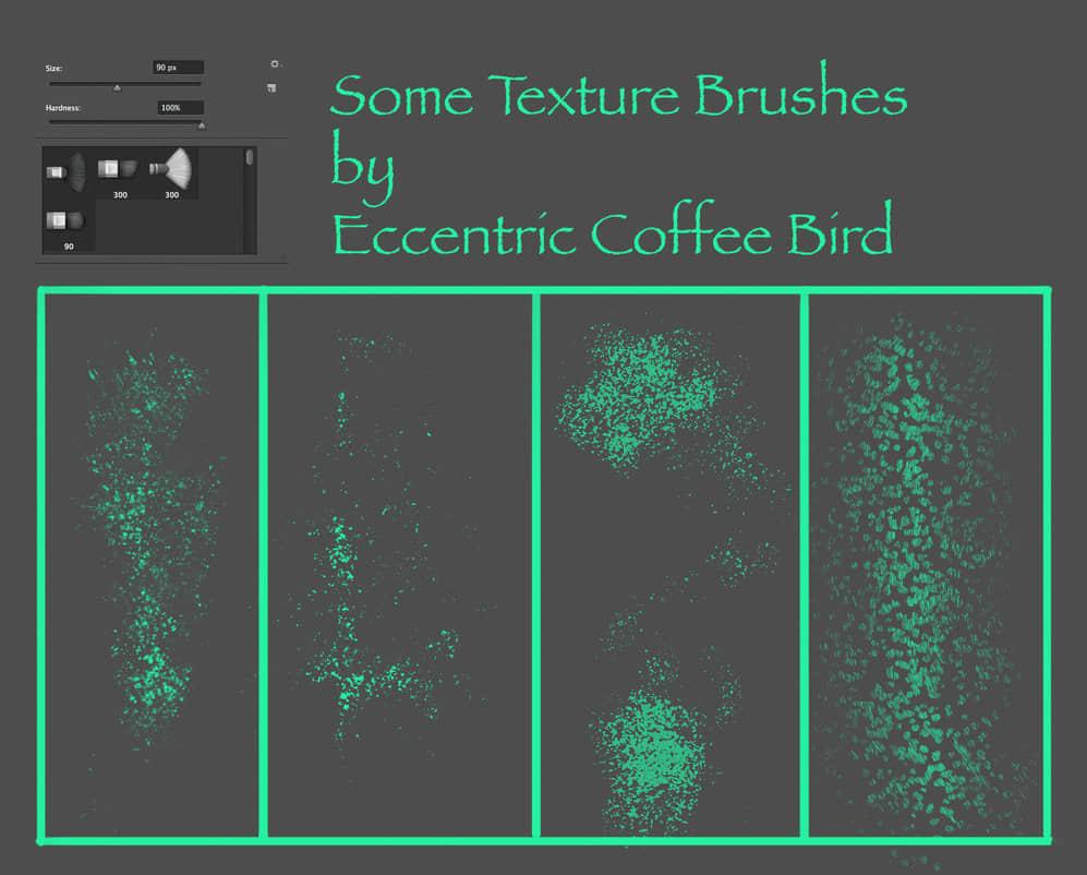 高级笔刷刷子套装Photoshop笔刷素材下载 喷墨笔刷 刷子笔刷  photoshop brush