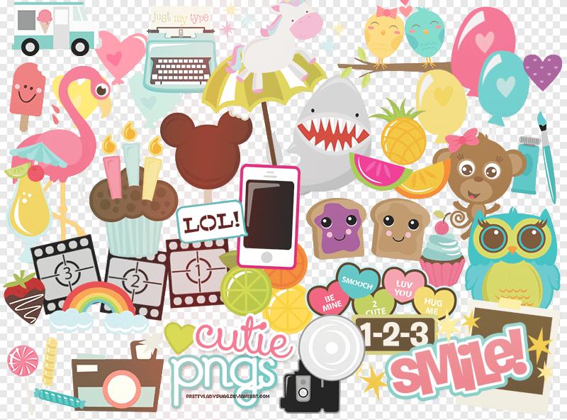 43个蛋糕、爱心、糖果、棒冰、雨伞、城堡等图片素材包-【美图秀秀素材】下载