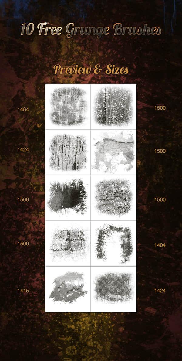 10个免费的墙壁油漆纹理效果photoshop笔刷素材 油漆纹理笔刷 墙壁纹理笔刷  %e5%a2%99%e5%a3%81%e4%b8%8e%e5%9c%b0%e9%9d%a2%e7%ac%94%e5%88%b7