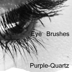 高清真实的眼睛图片photoshop笔刷素材 眼睛笔刷  characters brushes
