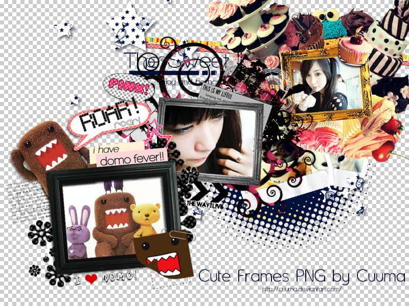 4个非主流照片相框图片素材#.2-【美图秀秀素材】