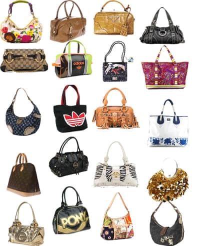 时尚女式包包、拎包照片素材-【美图秀秀素材包】