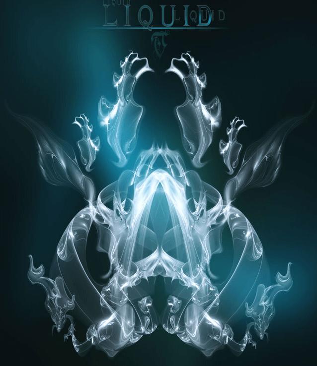 超酷艺术烟雾气流特效photoshop笔刷素材