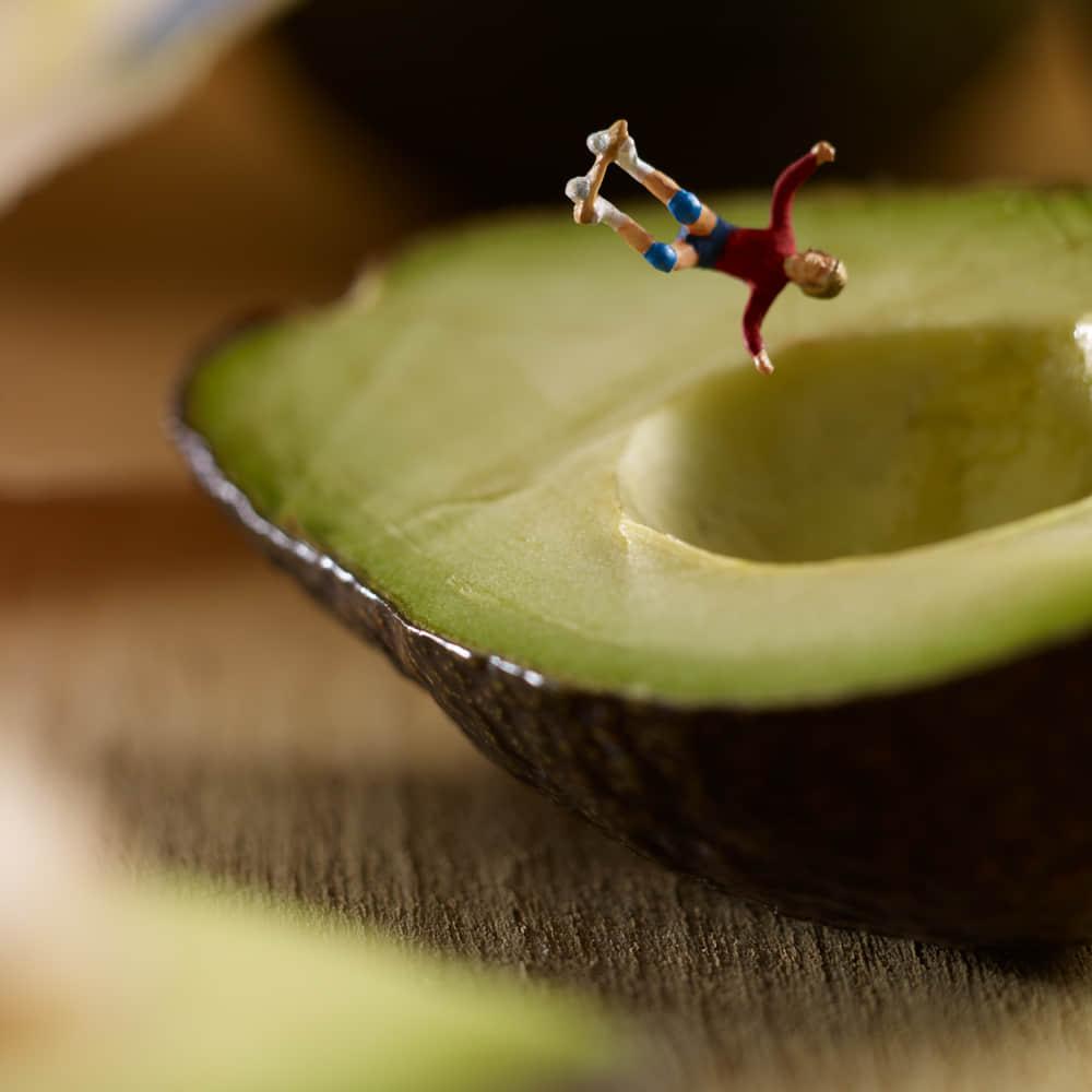 """一个关于食物的""""微型世界""""的创作"""