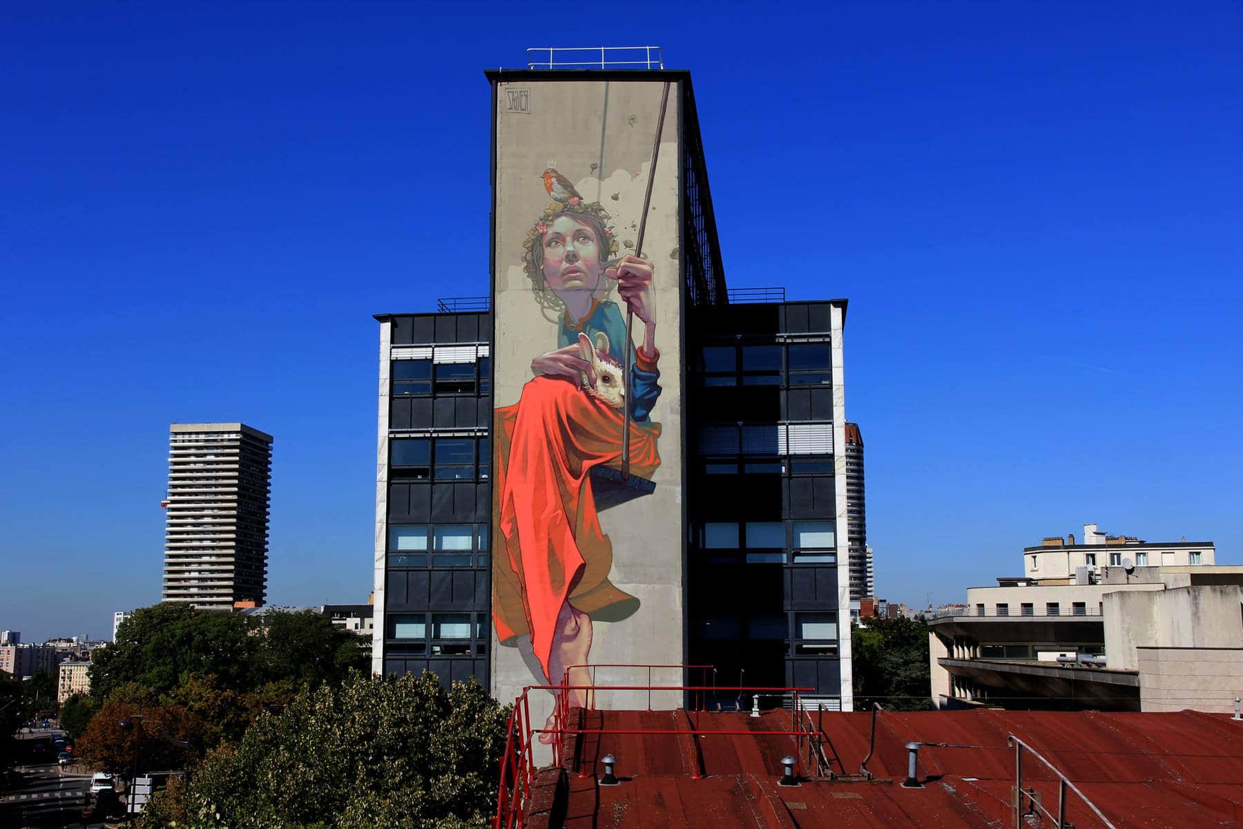 来自波兰的超现实街头壁画艺术欣赏