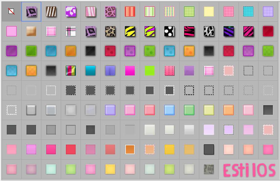 超大photoshop图层样式文件库素材免费下载 #.2 PS图层样式素材  background brushes