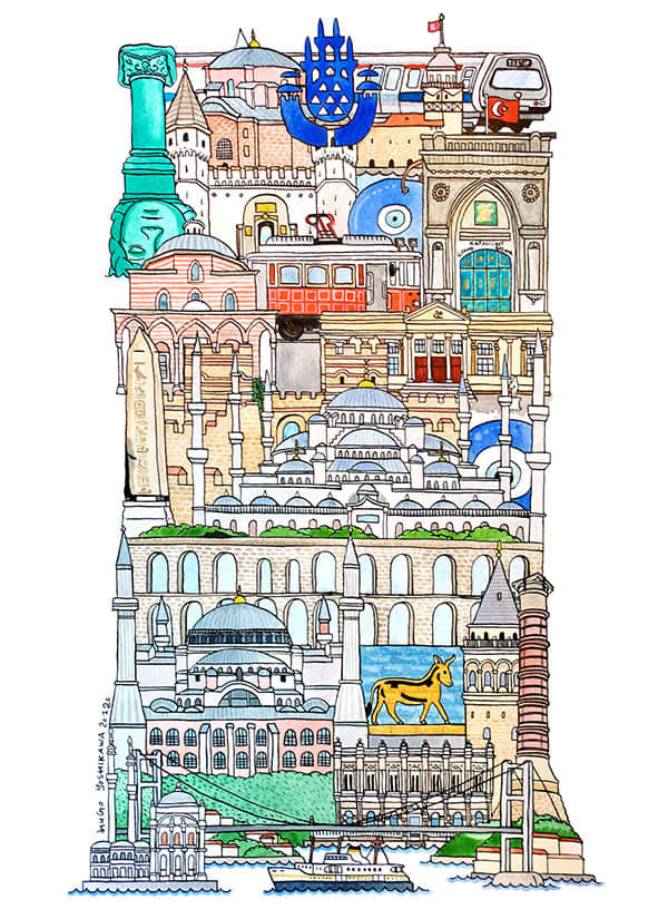26个欧洲城市特色,变身成为英文字母!