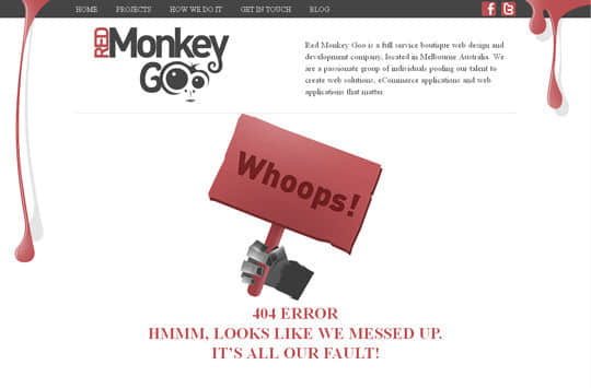 """40个超""""赞""""的国外网站404错误页面设计范例"""