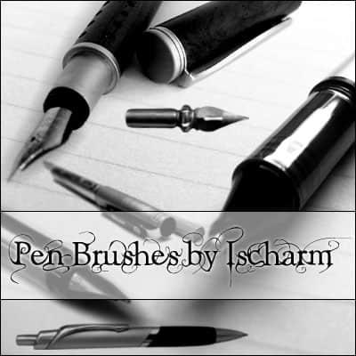 钢笔photoshop笔刷素材