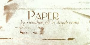 老旧发黄的纸质材质背景纹理PS笔刷素材