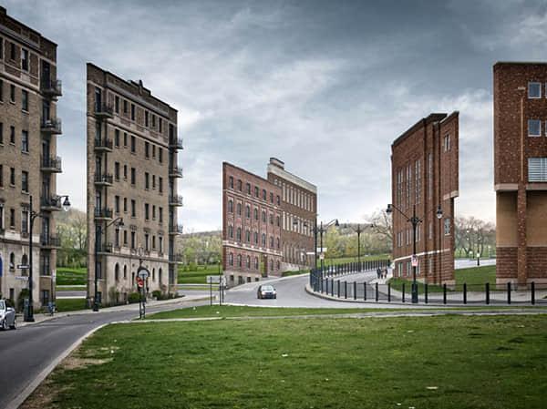 被孤立的建筑表面,ZACHARIE GAUDRILLOT ROY 超现实摄影 美国摄影  photography