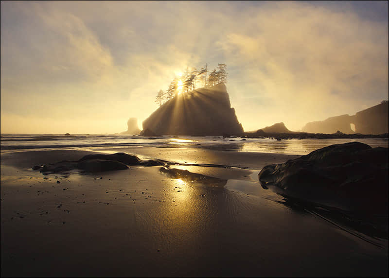 镜头下的 美国自然风景 摄影艺术照片