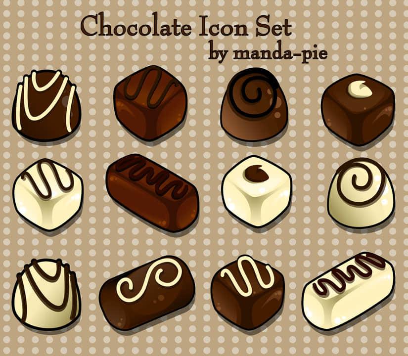 好吃的卡通巧克力糕点之美图秀秀素材包 美图秀秀巧克力素材  %e9%a5%b0%e5%93%81%e8%b4%b4%e7%ba%b8%e7%b4%a0%e6%9d%90