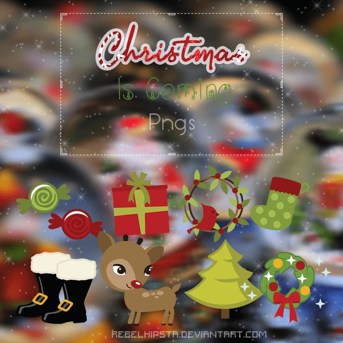 快乐圣诞节卡通饰品装饰png美图秀秀素材下载