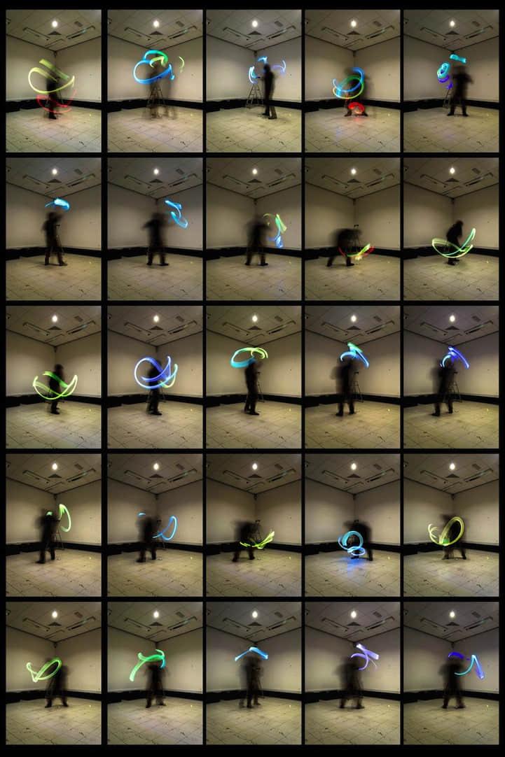 怪异的 WIFI信号 摄影艺术创作