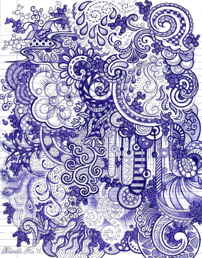 25个高超手绘涂鸦艺术作品展示