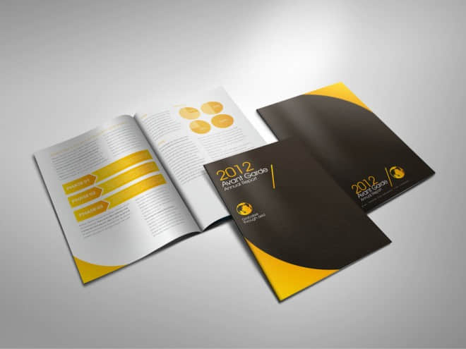 25个最新国外企业宣传册设计例子