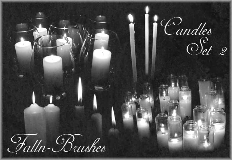 蜡烛Photoshop笔刷