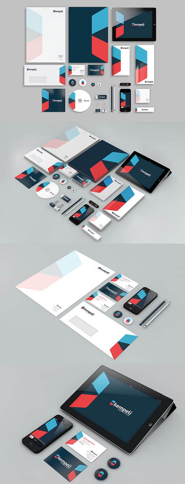 25个企业品牌与公司形象VI设计方案欣赏