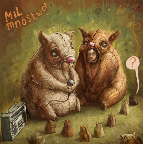 插画家 Alek Morawski 的插画艺术欣赏