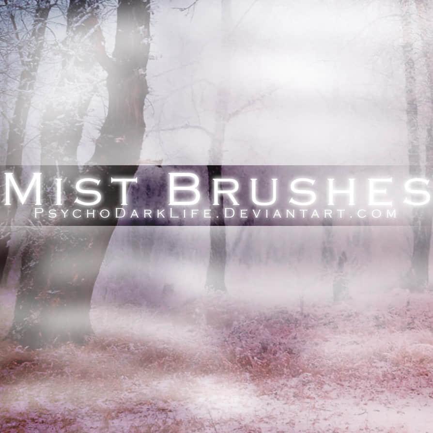 超真实浓雾、迷雾、雾气环境Photoshop笔刷
