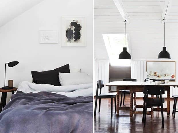 北欧家居设计典范!明亮的挪威FAMILY LOFT