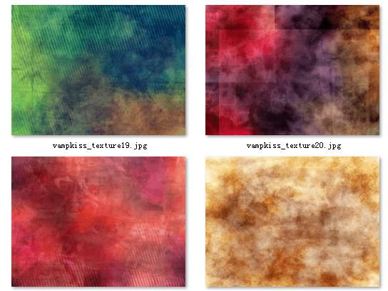 4种非主流混色照片背景美图素材下载