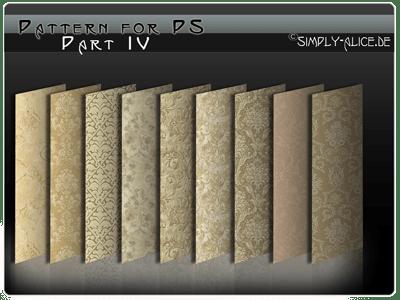 古典墙壁、地毯印花图案民族花纹Photoshop填充图案底纹素材.pat #.4