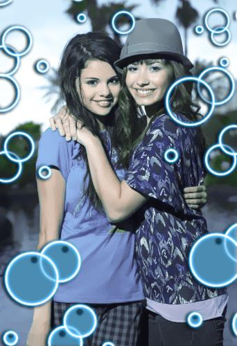 可爱荧光泡泡Photoshop笔刷素材