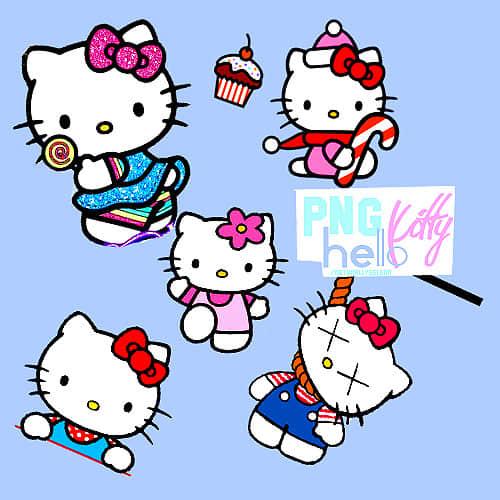 超级可爱Hello Kitty图形照片美图素材下载