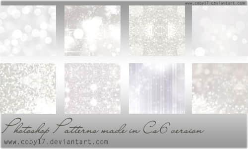耀眼的光芒Photoshop填充图案文件底纹素材.pat