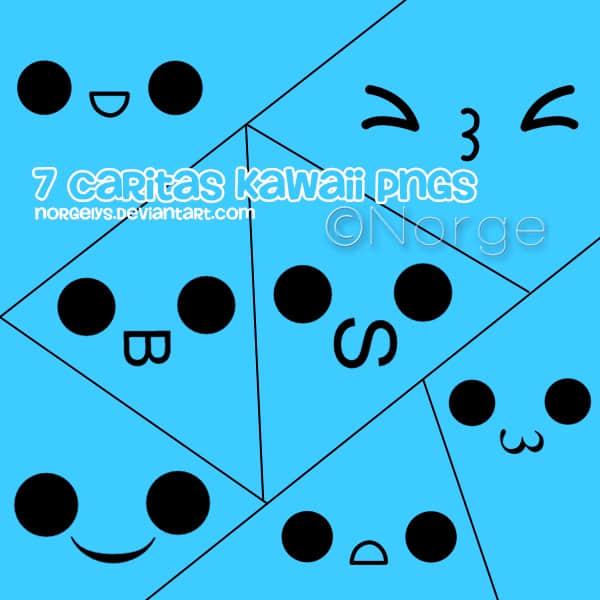 7个卖萌可爱的表情符号美图秀秀素材包