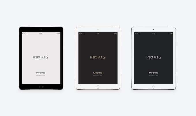 3个免费的iPad Air 2 UI素材下载