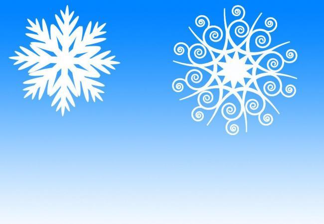 漂亮的雪花式花纹图案Photoshop笔刷 雪花笔刷  flowers brushes