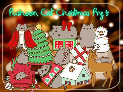 已扣!30个可爱猫咪庆圣诞节之美图秀秀相片装饰素材包