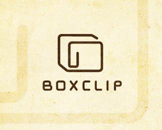 18个回形针造型之办公风格Logo标志设计