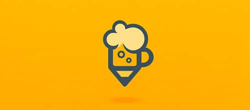 """40个以""""啤酒""""为主题设计的最新Logo标志设计方案分享"""
