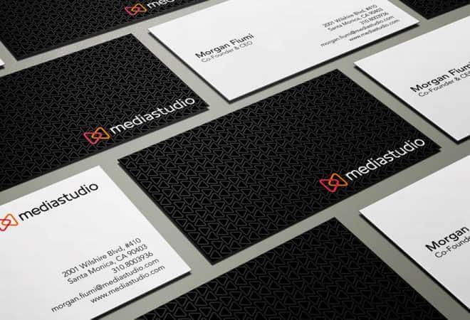 25张最新企业用名片设计方案