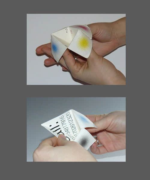 """20个""""可折叠式创意名片""""设计方案欣赏"""