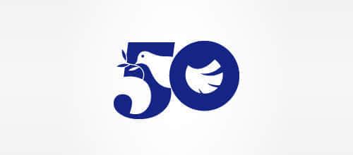 """30个""""鸽子""""造型的时尚Logo标志设计方案欣赏"""