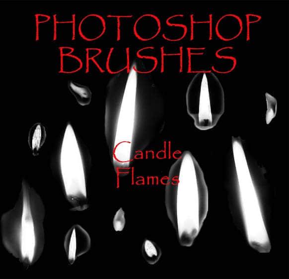 火光、烛光、烛火Photoshop蜡烛笔刷