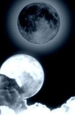 真实的月球、月亮Photoshop笔刷素材