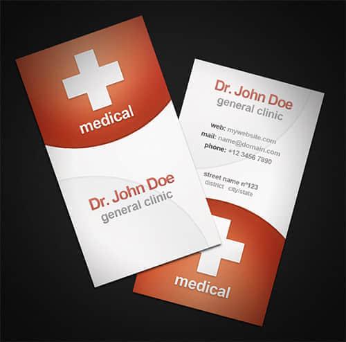 20张医药代表、医院公司企业、医院公共卫生等专用名片设计方案