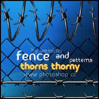 真实铁栅栏、铁丝网Photoshop填充图案底纹素材.pat