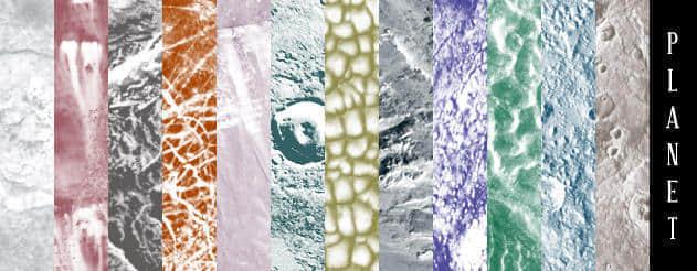 行星、月球、土星、火星等星球Photoshop表面纹理Photoshop笔刷